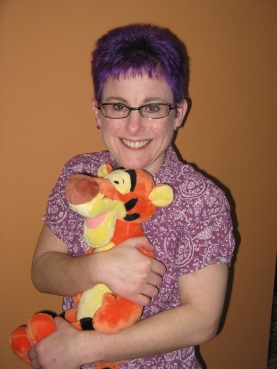 My husband may disagree, but I don't think it is possible to have too many Tiggers.